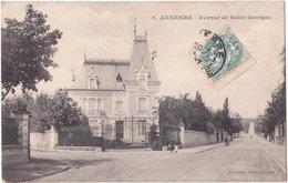 89. AUXERRE. Avenue De Saint-Georges. 6 - Auxerre