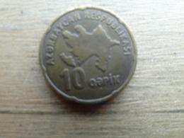Azerbaidjan  10 Qapik 2006  Km 42 - Azerbaiyán