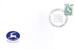 ISRAEL : SPECIAL COVER : 05-01-1964 : ISSUED FROM JERUSALEM : VISIT OF POPE JOHN PAUL VI TO ISRAEL IN 1964 - Israël