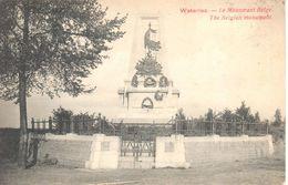 Waterloo - CPA- Le Monument Belge - Waterloo