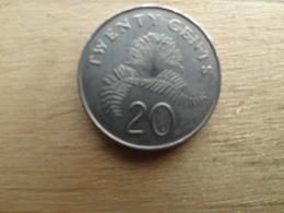 Singapour  20  Cents  2006  Km 101 - Singapour