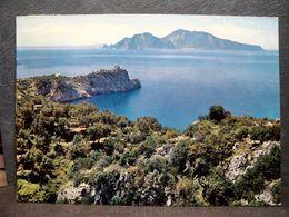 (FG.R106) MASSA LUBRENSE - MARCIANO - PUNTA SAN LORENZO (NAPOLI) VIAGGIATA 1968 - Napoli (Naples)