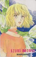 Télécarte Japon / 110-011 - MANGA - MARGARET By IZUMI MOMOI - ANIME Japan Phonecard - 10163 - Comics