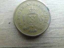 Antilles  Neerlandaises  1  Gulden  1990   Km 37 - Netherland Antilles