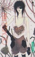 Télécarte Japon / 110-011 - MANGA - MARGARET By MAKI KUSUMOTO - ANIME Japan Phonecard - 10165 - Comics