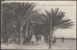 Square Bresson Et Boulevard De La République, Alger, C.1910 - Régence CPA - Algiers