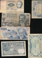 WORLD BANK NOTE SELECTION USED - Alla Rinfusa - Banconote