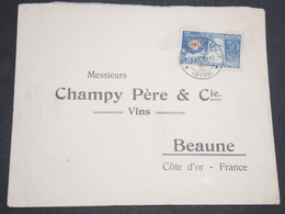 SUISSE - Enveloppe De Langnau Pour Beaune En 1928 , Affranchissement Plaisant -  L 13560 - Cartas