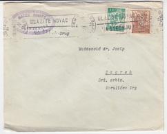 Yugoslavia, Matica Hrvatska Letter Cover Travelled 1947 Zagreb Pmk B180220 - 1945-1992 Socialist Federal Republic Of Yugoslavia