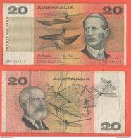 Australia 20 Dollars 1972 Smith - Decimal Government Issues 1966-...