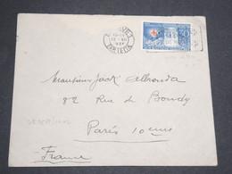 SUISSE - Enveloppe De Genève Pour Paris En 1928 , Affranchissement Plaisant -  L 13562 - Cartas