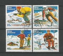 New Zealand 1984 Winter Sports Y.T. 867/870 (0) - Used Stamps