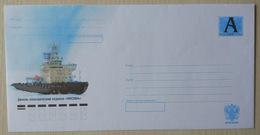 """Russia 2009. Diesel-electric Icebreaker Moskva. Tariff """"A"""" Cover. Mint - 1992-.... Federazione"""