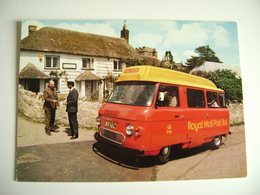 ROYAL MAIL: The Honiton Royal Mail Post Bus Shown Here At Dunkeswell Post Office. Introduced 1967  POSTE - Poste & Postini