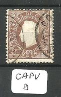 CAPV Mun 19 YT 19(A)  Dent 12 1/2 Ob - Cap Vert