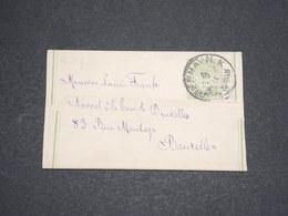 DANEMARK - Entier Postal Pour Bruxelles -  L 13575 - Interi Postali
