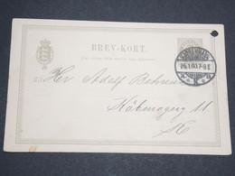 DANEMARK - Entier Postal De Copenhague En 1900 -  L 13577 - Interi Postali