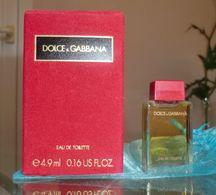 DOLCE GABBANA - EDT 4,9 ML De DOLCE ET GABBANA - Miniatures Womens' Fragrances (in Box)