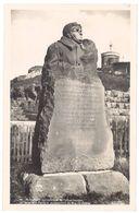 Cpsm Monument Symbolique De L'atterrissage De L'Aviateur Renaux Au Sommet Du Puy De Dome  ( AV ) - France