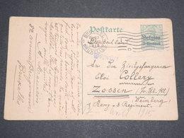 BELGIQUE - Entier Postal De Bruxelles Pour Zossen En 1915 -  L 13579 - German Occupation