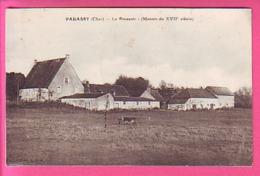 PARASSY CHER LE PRESSOIR  MANOIR DU XVII SIECLE - France