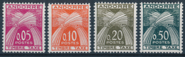 ANDORRA 1961 TAXE - Y&T T42-45 Set Of 4v**MNH - Segnatasse