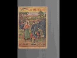 .AGD1   ALMANACH De La DEPEAGD1  ANNEE  1914  Calendrier 12 PLEINES PAGES   NOMBREUX  DESSINS  250 P  PARFAIT ETAT VOIR - Calendars