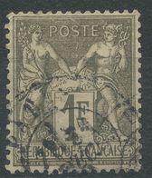 Lot N°40886  N°72, Oblit Cachet à Date De PARIS - 1876-1898 Sage (Type II)