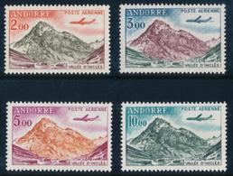 ANDORRA 1961-64 Y&T PA 5-8 Set Of 4v**MNH - Nuovi