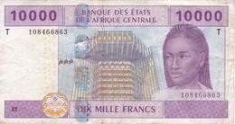 BILLETE DEL TOGO DE 10000 FRANCS DEL AÑO 2002  (BANKNOTE) - Togo