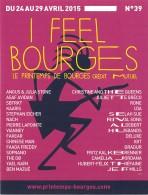 I FEEL BOURGES Le Printemps De Bourges Credit Mutuel 19(scan Recto-verso) MB2316 - Publicité