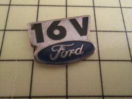 Pin812g Pin's Pins / Rare Et De Belle Qualité !!! AUTOMOBILES : FORD 16V - Ford