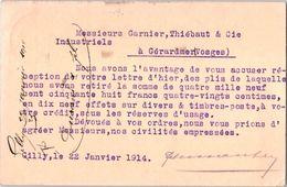 GILLY Lez Charleroi : F. Durant & Fils - Entiers Postaux - Charleroi