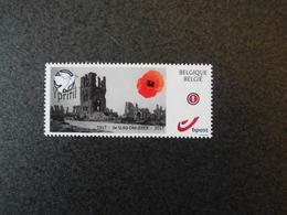 België Belgium 2017 - Wereldoorlog I Derde Slag Om Ieper Passendale Yprifil / World War I Ypres Passchendaele Poppy - Neufs