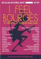 I FEEL BOURGES Le Printemps De Bourges Credit Mutuel 2(scan Recto-verso) MB2320 - Publicité