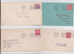 USA - Nebraska City - Newburgh - Boston - Watkins Glen - Lot Of 4 First Day Covers - Cover FDC - Enveloppe Premier Jour - First Day Covers (FDCs)