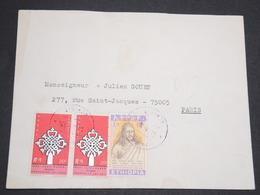ETHIOPIE - Enveloppe Pour La France -  L 13607 - Ethiopie