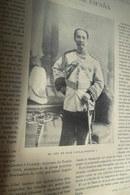 Rama V Visiting Spain Roi King Siam Chulalongkorn 1897 - Magazines & Newspapers