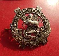 Insigne 1914-1918 Ww1 écossais Du Liverpool Scottish Modèle Officier Officer - Other
