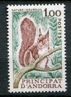 6136    ANDORRE   N° 267**  1f Vert, Sépia Et Brun-rouge : Protection De La Nature. Faune : écureuil  1978    TTB - Andorre Français