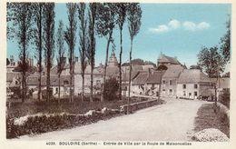 CPA - BOULOIRE (72) - Aspect De L'entrée De La Ville Par La Route De Maisoncelles Dans Les Années 30 - Bouloire