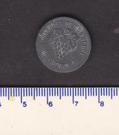 Monnaie Necessité Hérault (34) .. 5 C Chambres De Commerce Zinc Non Daté - Monetary / Of Necessity