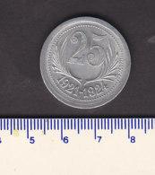 _ Monnaie Necessité Hérault (34) .. 25 C Chambres De Commerce Aluminium 1921-24 - Monétaires / De Nécessité
