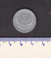 Monnaie Necessité Hérault (34) .. 5 C Chambres De Commerce Aluminium 1921-24 - Monetary / Of Necessity