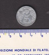 Monnaie Necessité Epernay (51)  Marne.. 5 C  Union Des Commerçants  1922 - Monetary / Of Necessity