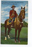 Royal Canadian Mounted Police, WINDSOR, Ontario, RCMP,  Old Sigel Brothers Linen Postcard - Windsor