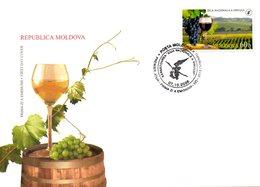 MOLDAVIE. N°493 De 2006 Sur Enveloppe 1er Jour. Journée De La Viticulture. - Wines & Alcohols