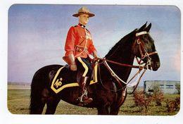 Royal Canadian Mounted Police, SUDBURY, Ontario, RCMP,  Old Wilson Chgrome Postcard - Autres