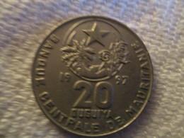 Mauritanie: 20 Ouguiya 1997 - Mauritanie