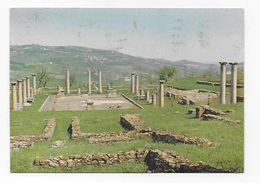 CPA Publicité Médicament Spasmaverine Simandre Sur Suran Italie Velleia Ruines Romaines - Italia